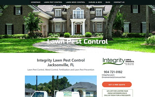 Integrity Lawns Pest Control