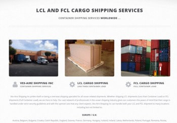 International Freight Shipping Company - www.lcl-fcl-cargo.com