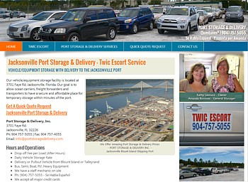 Port Storage Delivery and Port Twic Escort