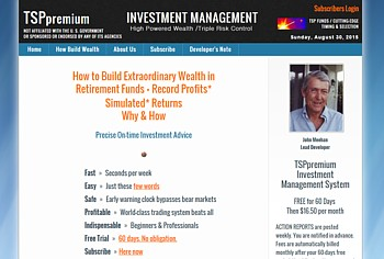 Retirement Funds Management - www.tsppremium.com