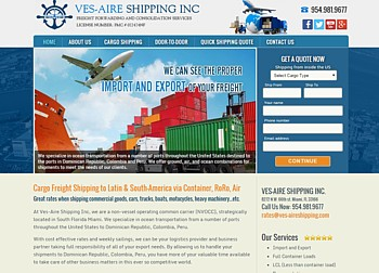 International Freight Shipping Company<